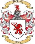 De Leone Family Coat of Arms from Italy