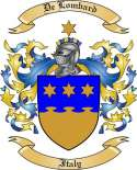De Lombard Family Coat of Arms from Italy2