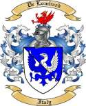 De Lombard Family Coat of Arms from Italy