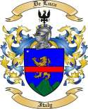 De Luca Family Crest from Italy