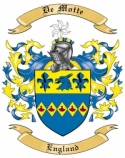 De Motte Family Coat of Arms from England