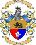De Palo Family Coat of Arms from Italy