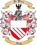De Piero Family Crest from Italy