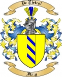 De Pietrol Family Crest from Italy2