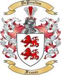De Poulien Family Coat of Arms from France