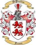 De Poulien Family Crest from France