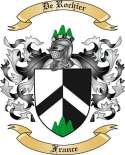 De Rochier Family Crest from France