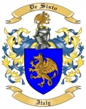 De Sisto Family Coat of Arms from Italy