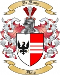 De Suno Family Coat of Arms from Italy