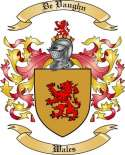 De Vaughn Family Crest from Wales