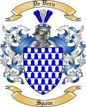 De Vera Family Coat of Arms from Spain