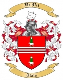 De Vit Family Crest from Italy