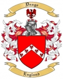 Deage Family Coat of Arms from England