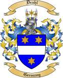 Deahl Family Coat of Arms from Germany