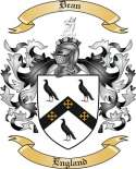Dean Family Crest from England