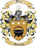 Dean Family Crest from Germany