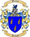 Deanes Family Coat of Arms from Ireland