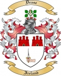 Dease Family Coat of Arms from Ireland