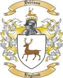 Debison Family Crest from England