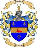 Debison Family Crest from Scotland