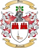 Dece Family Coat of Arms from Ireland