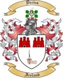 Decies Family Crest from Ireland