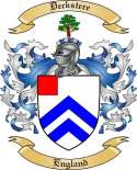 Deckstere Family Crest from England