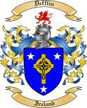 Defflin Family Crest from Ireland