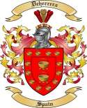 Deherrera Family Coat of Arms from Spain
