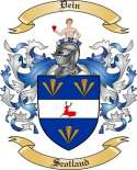 Dein Family Coat of Arms from Scotland