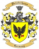 Deisterhaus Family Coat of Arms from Germany
