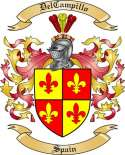 DelCampillo Family Crest from Spain