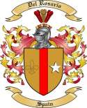 Del Rosario Family Coat of Arms from Spain