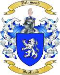 Delamond Family Crest from Scotland