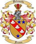 Delamotte Family Coat of Arms from France