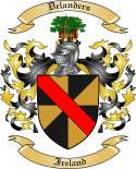 Delanders Family Crest from Ireland