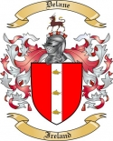 Delane Family Crest from Ireland