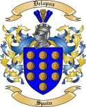 Delapaz Family Crest from Spain
