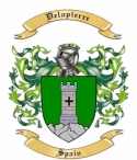 Delapierre Family Coat of Arms from Spain