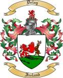 Delay Family Crest from Ireland