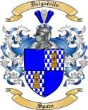 Delgadillo Family Coat of Arms from Spain