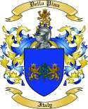 Della Pina Family Crest from Italy