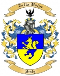 Della Volpe Family Crest from Italy