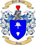 Delli Santi Family Crest from Italy