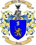 Dello Jaconi Family Crest from Italy
