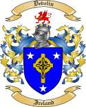 Develin Family Coat of Arms from Ireland