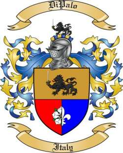 DiPalo Family Coat of Arms from Italy