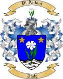 Di Antoni Family Coat of Arms from Italy