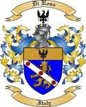 Di Rosa Family Coat of Arms from Italy