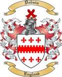 Dobsin Family Coat of Arms from England